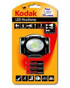 Latarka LED czołowa 3W 150lm + 3 Bateria AAA 1szt. KODAK