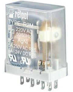 Przekaźnik przemysłowy 2P 5A 12V DC AgNi R2M-2012-23-1012