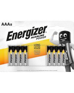 Bateria AAA/LR03 1,5V 8szt. ENERGIZER ALKALINE POWER