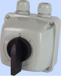 Łącznik krzywkowy ŁUK 40-13 w obudowie