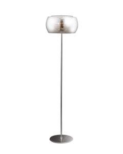 Lampa podłogowa, stojąca szklana z kryształami Moonlight F0076-04A Maxlight Chrom
