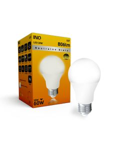 Lampa A60 E27 LED 10 bulb 806lm 4000K INQ LA034NW