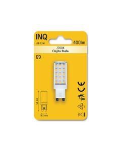 Lampa LED G9 3,5W 400lm 2700K owal INQ LTG030WW