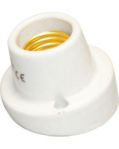 Oprawka E27 porcelanowa natynkowa skośna ELEKTRO