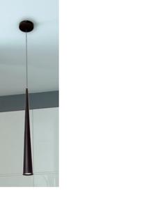 Lampa wisząca, żyrandol Slim P0002 Maxlight Czarny