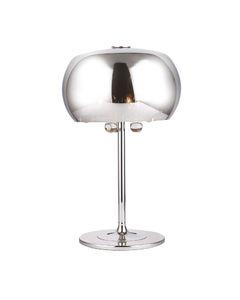 Lampa stołowa szklana z kryształami Moonlight T0076-03D Maxlight Chrom