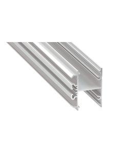 Profil led architektoniczny T2 M1 13x36mm aluminiowy biały lakierowany 1m