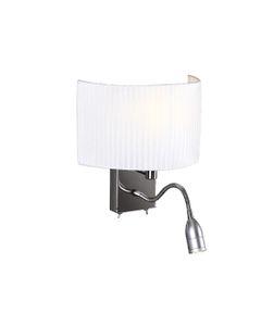 Kinkiet, lampa ścienna Conrad W0049 Maxlight Chrom